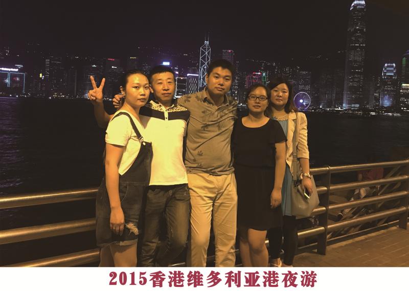 2015香港维多利亚港夜游